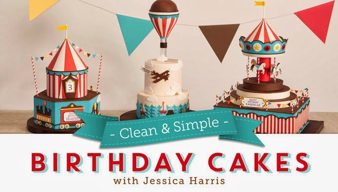 Tremendous Craftsy Class Review Clean And Simple Birthday Cakes With Jessica Personalised Birthday Cards Veneteletsinfo