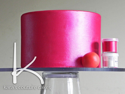 Luster, Shimmer, and Shine for Cakes
