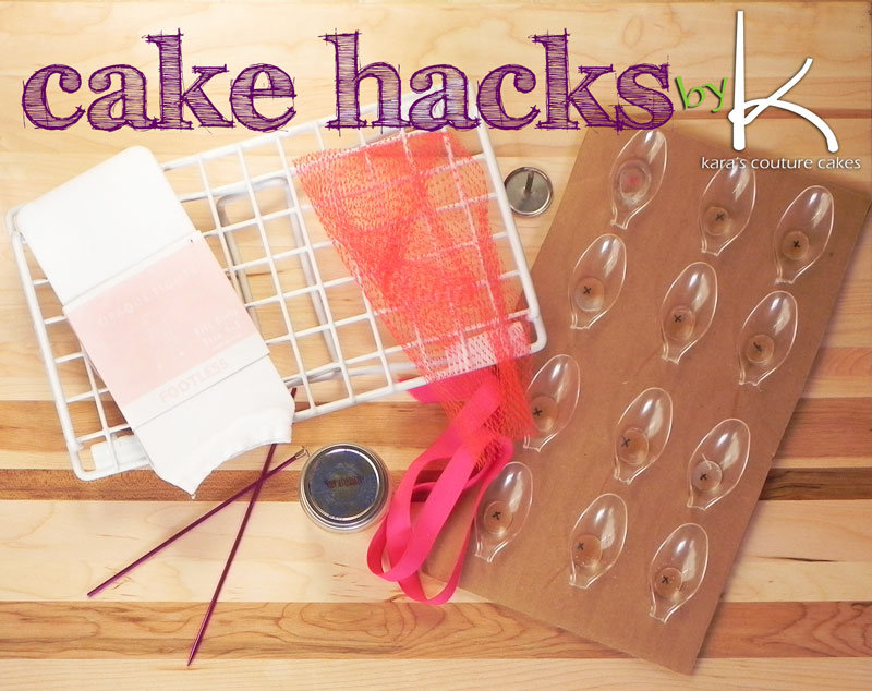 Cake Decorating Hacks : Cake Hacks You NEED to Know Kara s Couture Cakes