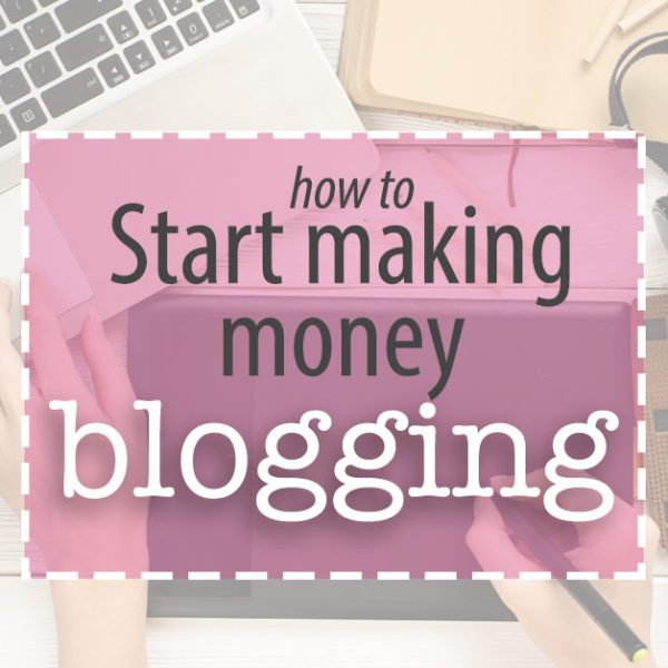 Make money blogging in 3 easy steps. If you already have a blog you should be monetizing. And if you've considered writing a blog, let's get you started!