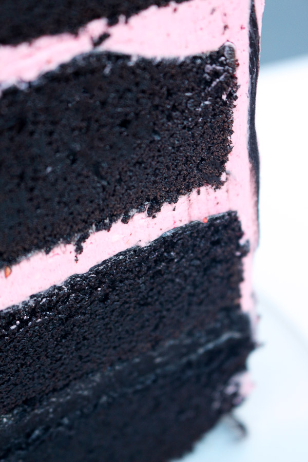 Blackout Chocolate Cake. This recipe features cocoa noir a.k.a black cocoa, the darkest cocoa powder available. Try this easy recipe and you'll never go back to your old chocolate cake again.
