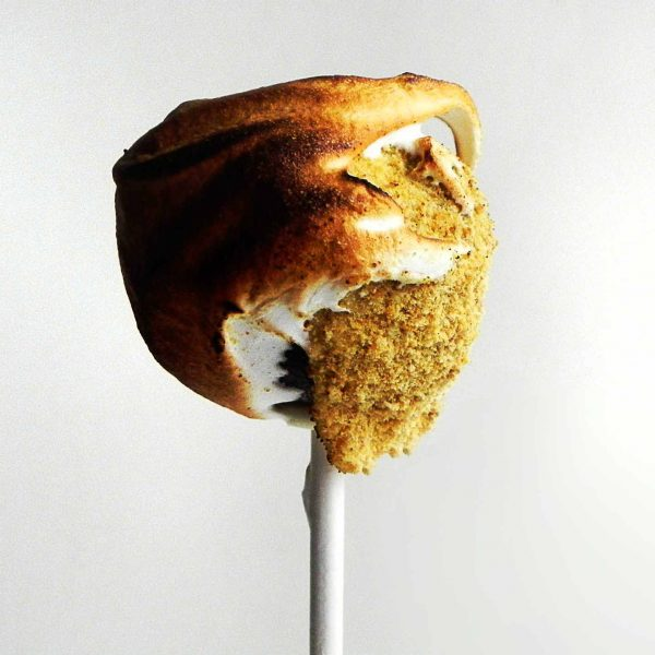 This recipe for S'Mores Truffle Pops will make you the star of the party! They are everything you remember from around the campfire in a tiny bite sized dessert sure to wow your guests!