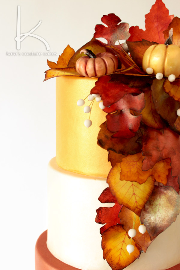 ny liem wedding cake wedding cake with fall leaves wedding cake from 17959