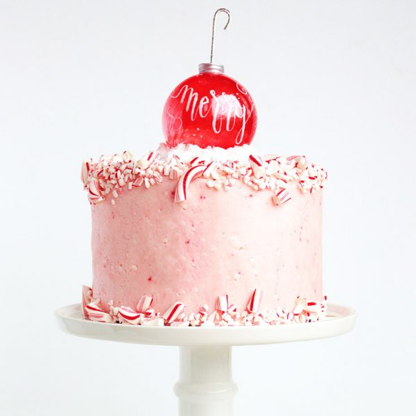 This Dark Chocolate Peppermint cake with Gourmet Homemade Candy Cane Fondant is to die for! Get the recipes now and wow your family and friends this Christmas!