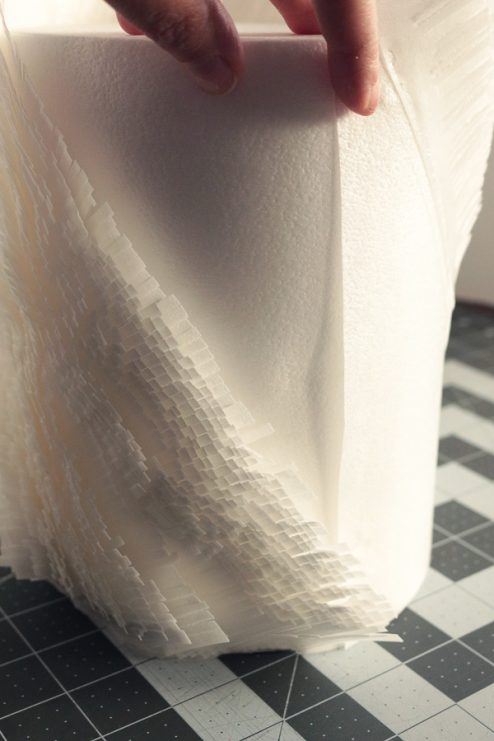 This easy and elegant wafer paper texture wrap is quick to make and very impressive! Create a professional finish on any wedding or winter cake with my tutorial! Learn how to make my Wafer Frills Cake Wrap now at Kara's Couture Cakes!