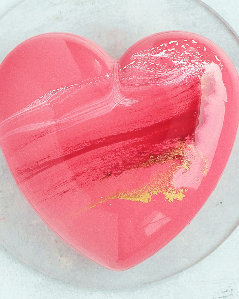 I Broke My Bleeding Heart (a sad cake story and recipe)