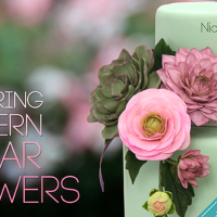 Review – Nicholas Lodge's Mastering Modern Sugar Flowers on Craftsy